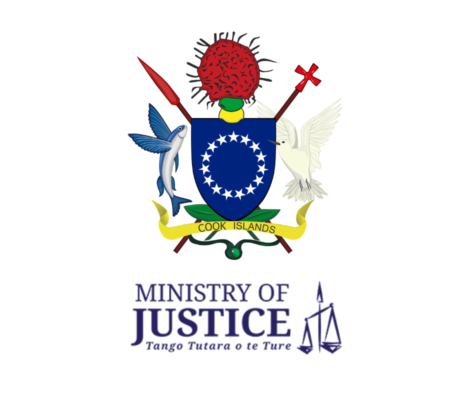 Cook Islands Ministry of Justice Secured Transactions Registry Seal