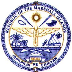 Republic of Marshall Islands. Land Registration Authority Logo Seal
