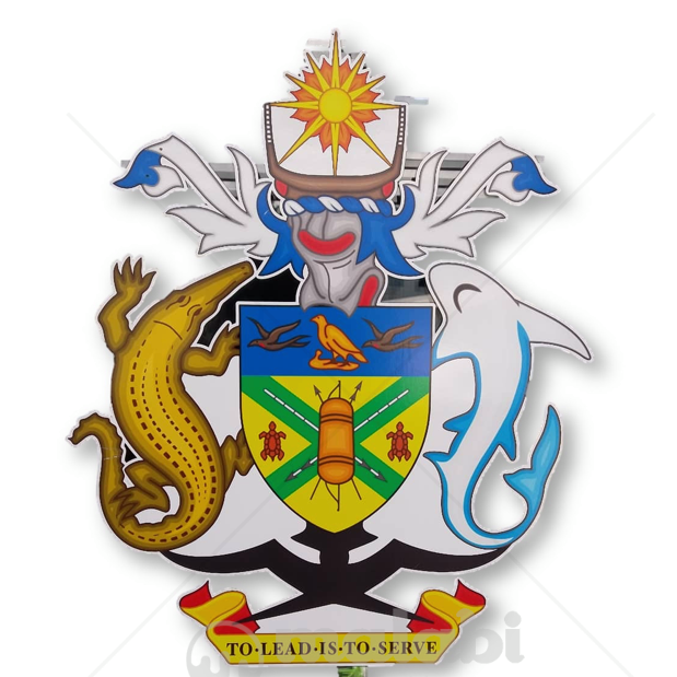 Solomon Islands Ministry of Commerce, Industries, Labour and Immigration Seal Logo