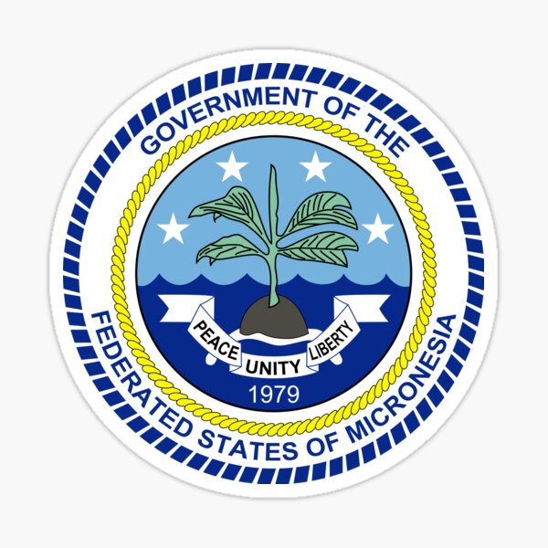 The Federated States of Micronesia Logo Seal