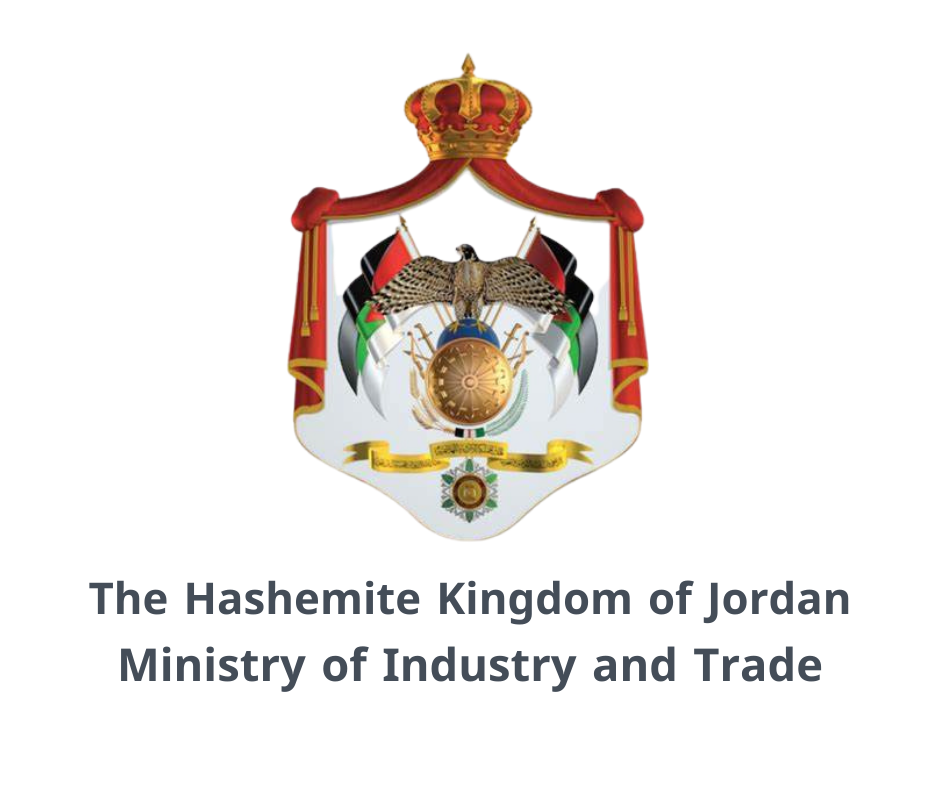 The Hashemite Kingdom of Jordan Ministry of Industry and Trade Seal Logo Emblem